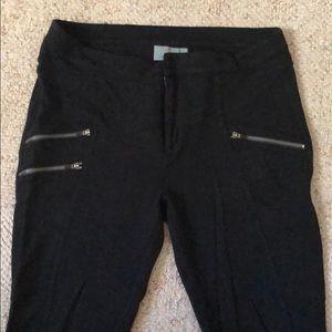 Athleta casual zippered leggings